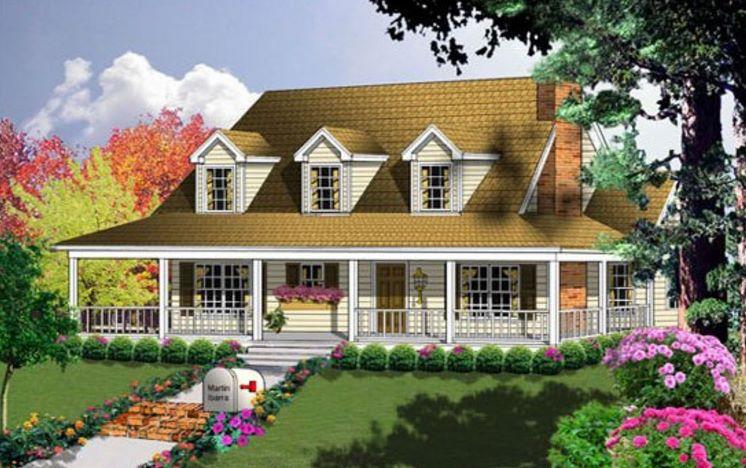 2 dormitorios planos de casas modernas - Casas con porche ...