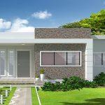 Plano de casa para terreno de 10 x 15