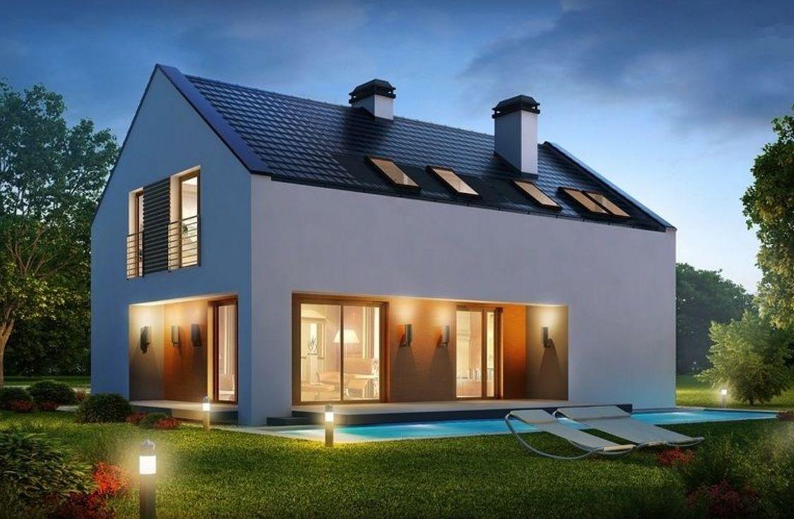 Casa minimalista y moderna for Casa tipo minimalista