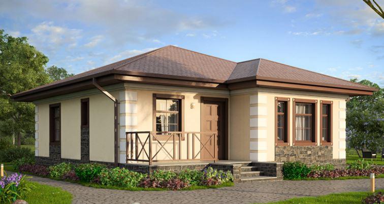 Fachada con acceso principal de casa moderna auto design for Casa moderna wallpaper