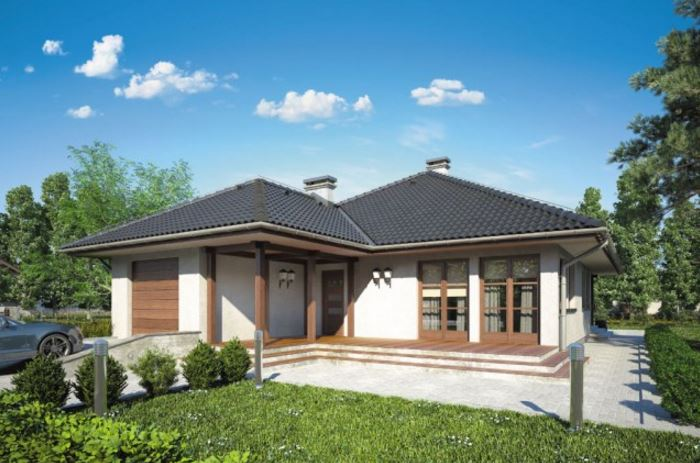 plano de casa con techo a cuatro aguas planos de casas
