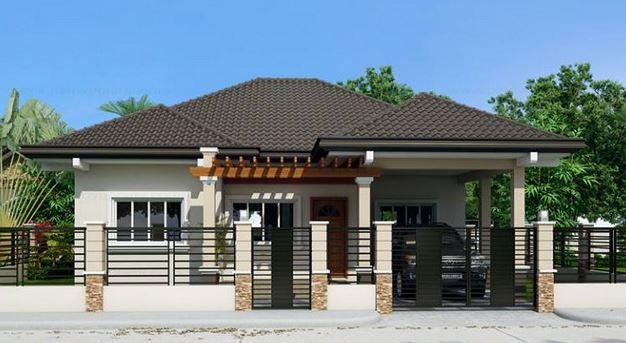plano de casa con 3 dormitorios planos de casas modernas