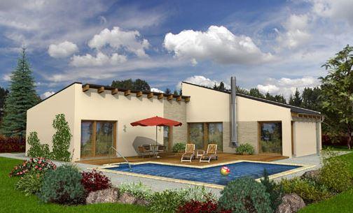 modelos de casas modernas de un piso planos de casas