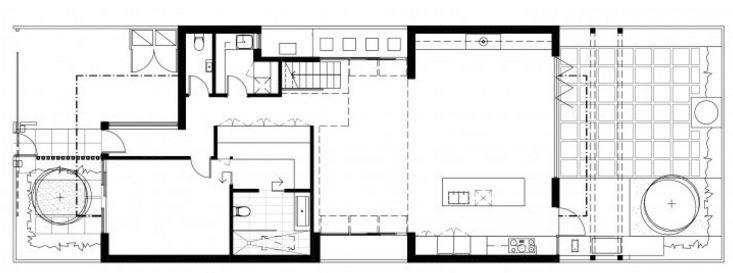 Plano de casa postmodernista