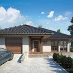 Planos de casas a cuatro aguas