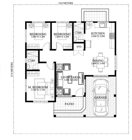 planos-de-casas-normales