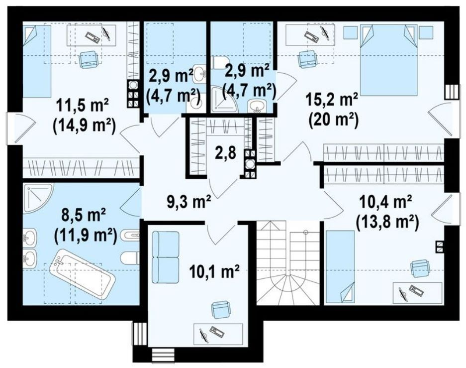 Planos de casas minimalistas for Planos gratis