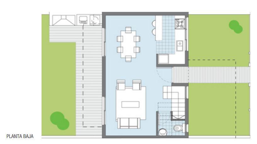 plano de casa de 90 m2 planos de casas modernas