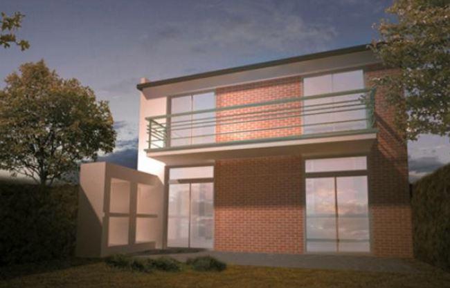 Planos de casas de 2 plantas planos de casas modernas for Diseno para casa de 90 metros cuadrados