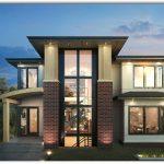 Casa moderna de 3 plantas