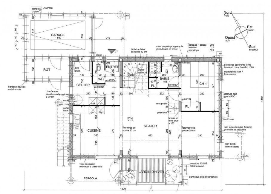 Planos de casas bioclimaticas for Construccion de casas bioclimaticas