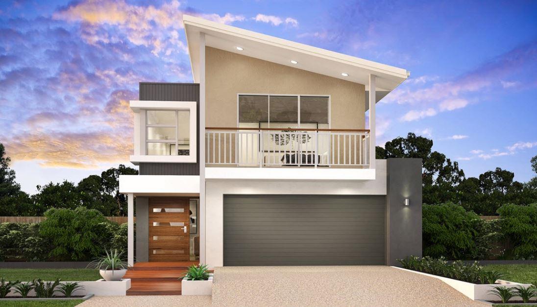 Modelos de casas de 2 plantas con 4 dormitorios planos for Planos de casas 90m2