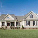 Casa de campo con planos