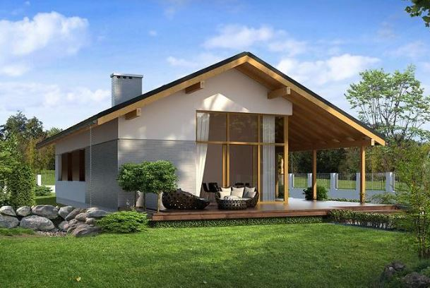 Modelos de casas de un piso bonitas planos de casas modernas for Modelos de casas de madera de un piso