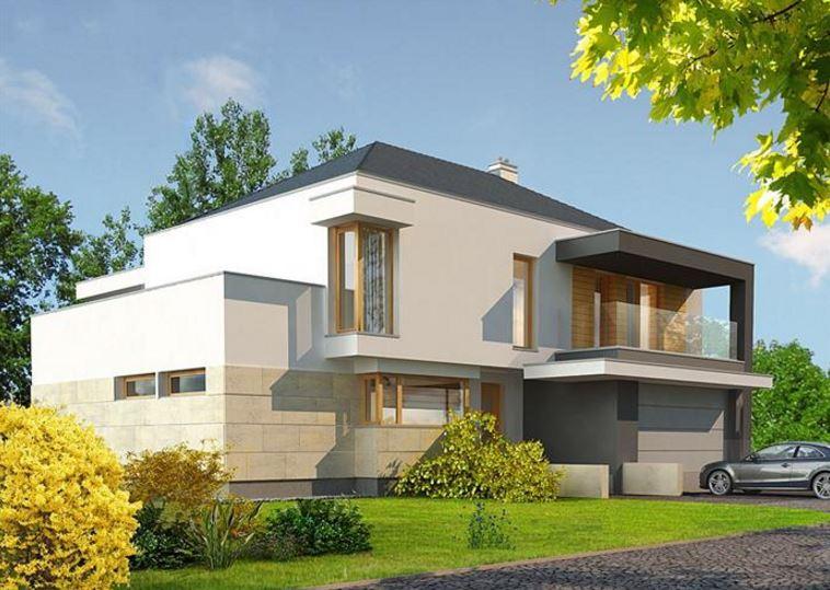 Plano de casa moderna de dos pisos planos de casas modernas for Planos casas pequenas modernas