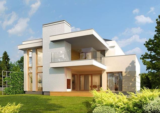 planos-de-casas-modernas-de-dos-pantas-con-fachada
