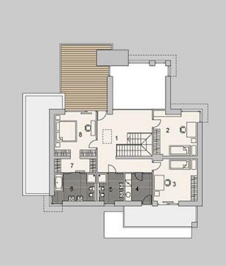 Plano de casa moderna de dos pisos planos de casas modernas for Planos de casas con medidas