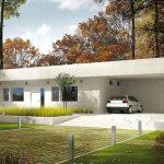 Fachadas y planos de casas modernas