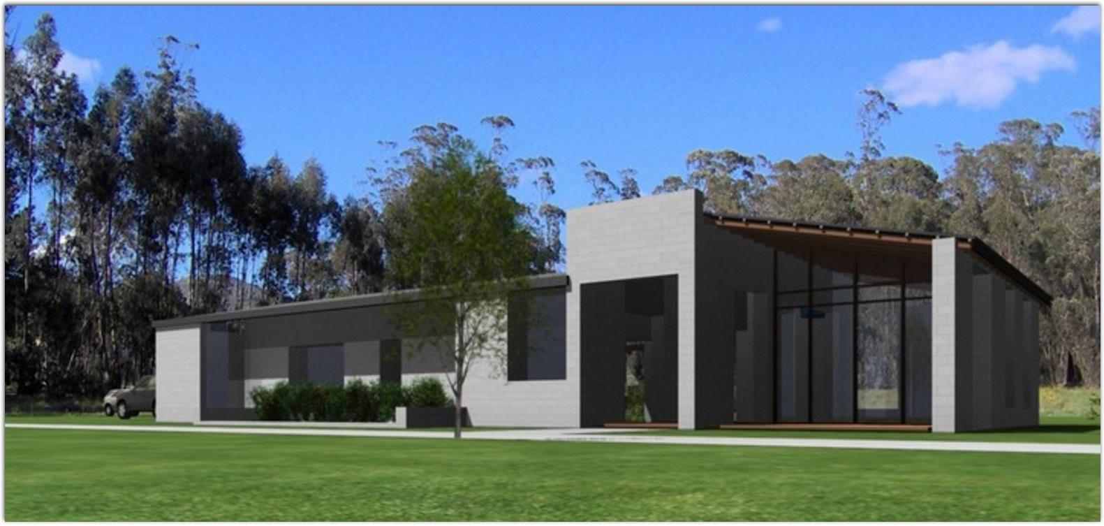 Planos de casas modernas planos de casas gratis y modernas for Frente casa moderna