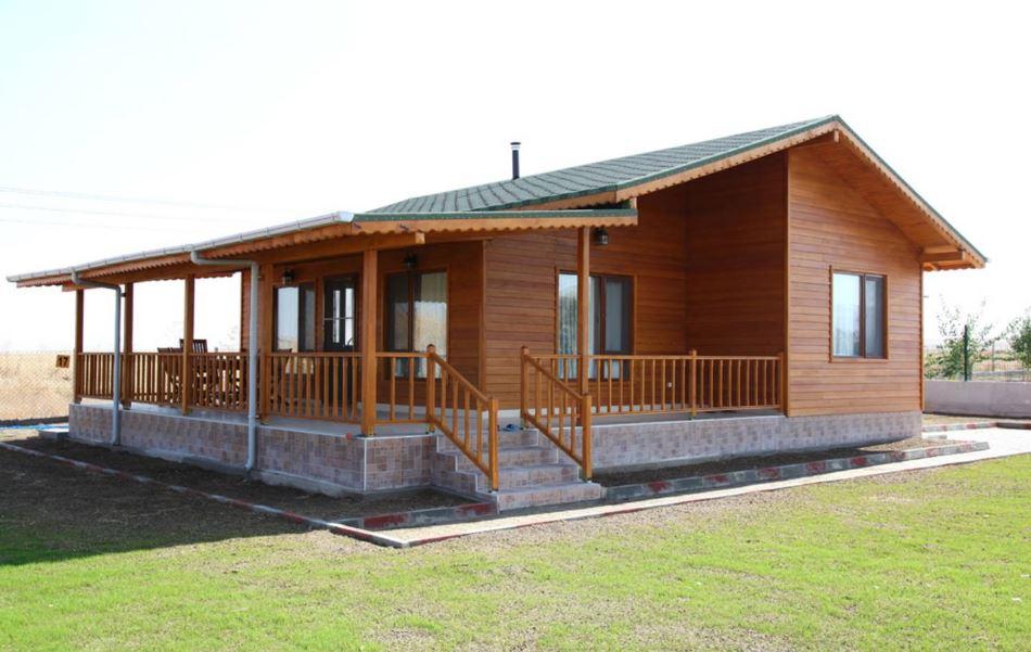 Casas prefabricadas en madera economicas for Casas prefabricadas modernas