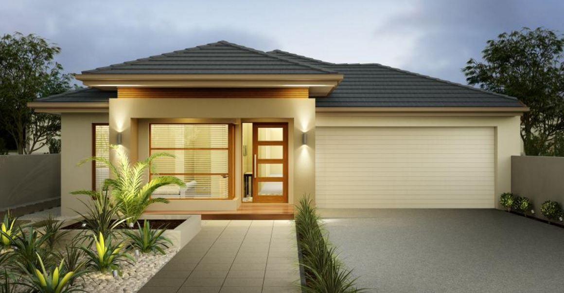 Plano de casa moderna de cuatro dormitorios planos de - Planos de casas 4 dormitorios ...
