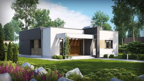 Planos de casas modernas de 92 metros cuadrados for Casa moderna 90m2