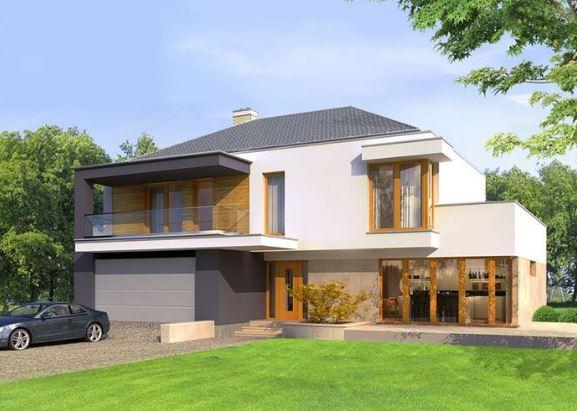 Plano de casa de dos plantas planos de casas modernas for Fachadas de chalets modernos