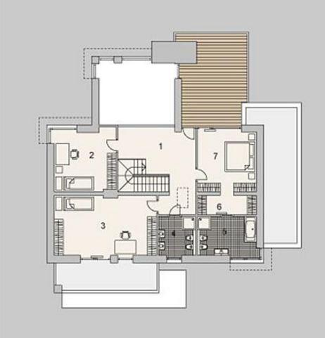 Plano de casa de dos plantas planos de casas modernas for Disenos de casas pequenas de dos plantas