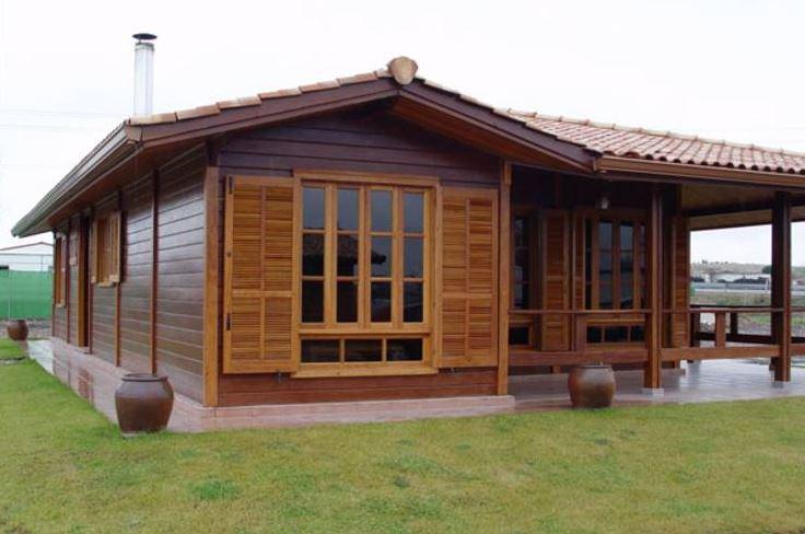 casa de madera prefabricada economica