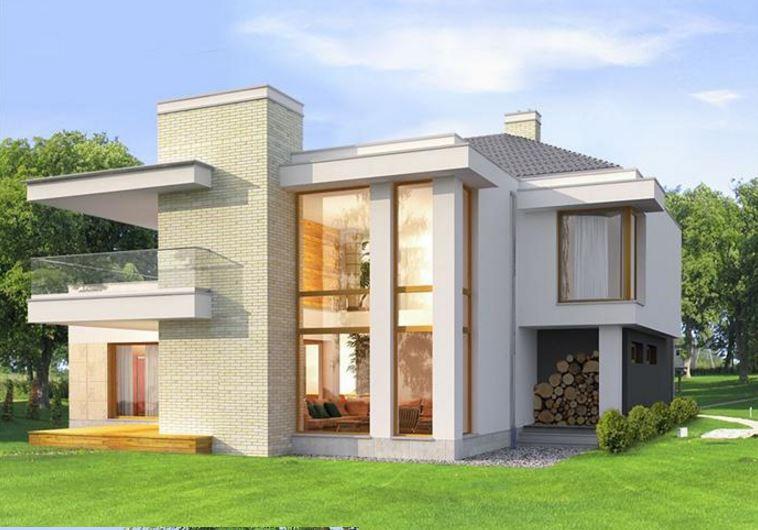 Chalet de dos plantas planos for Casas pequenas de dos pisos modernas