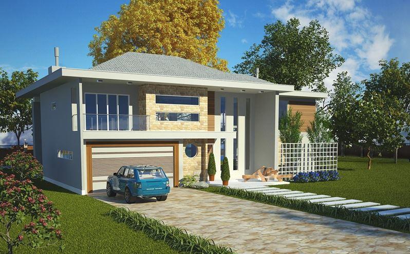Planos de casas modernas planos de casas gratis y modernas for Fachadas casas dos plantas