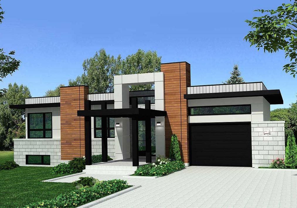 Planos de casas modernas planos de casas gratis y modernas for Plano de casa quinta moderna