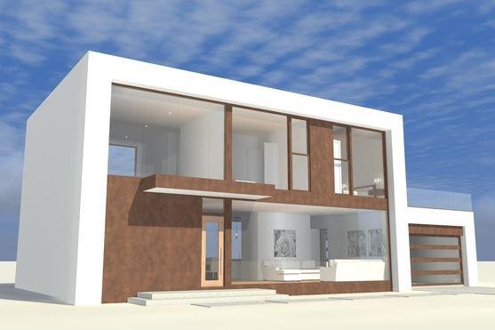 planos de casas modernas planos de casas gratis y modernas On casas modernas rectangulares