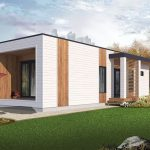 Planos de casa de 58 metros cuadrados