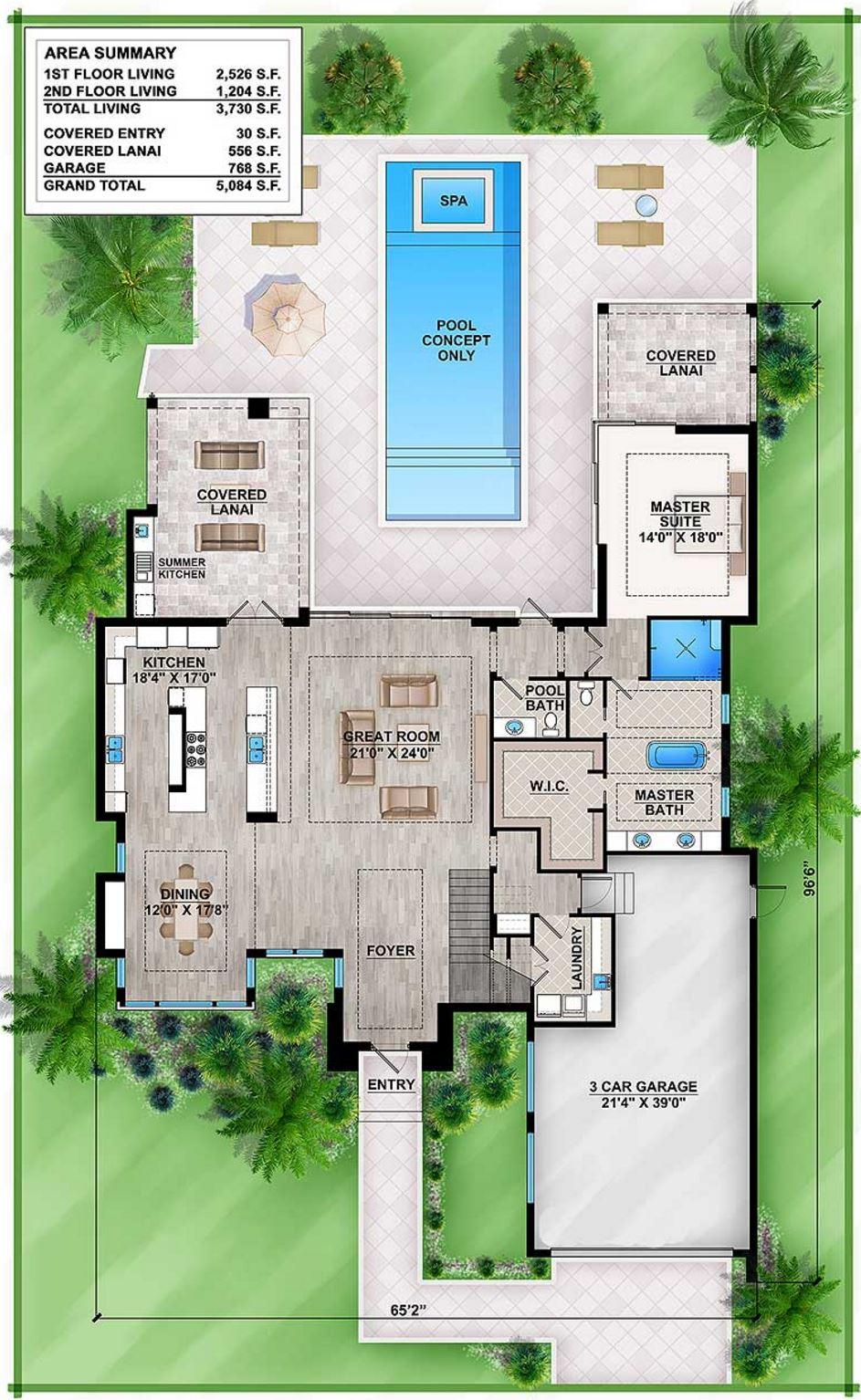 Planos de casas modernas planos de casas gratis y modernas for Planos de casas con piscina
