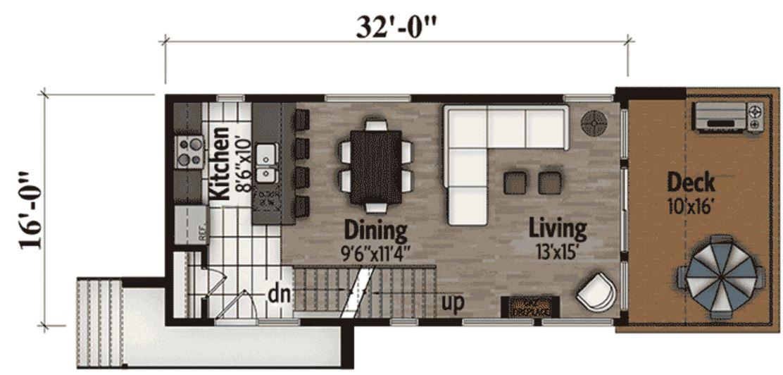 Plano de casa peque a planos de casas modernas for Planos para casas pequenas