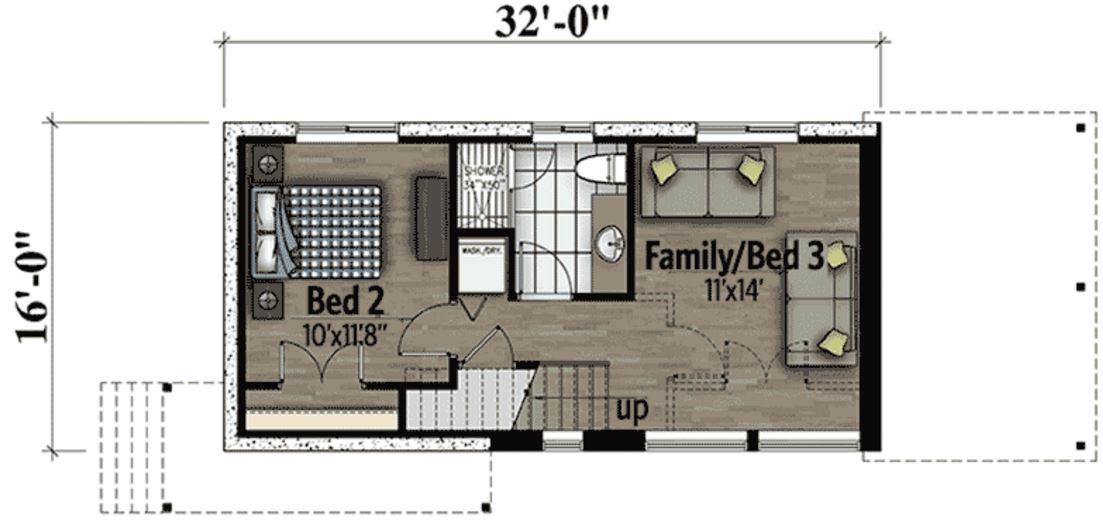 Plano de casa peque a planos de casas modernas - Distribucion casa ...