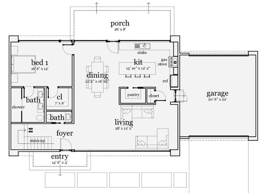 plano-de-casa-rectangular-de-dos-pisos