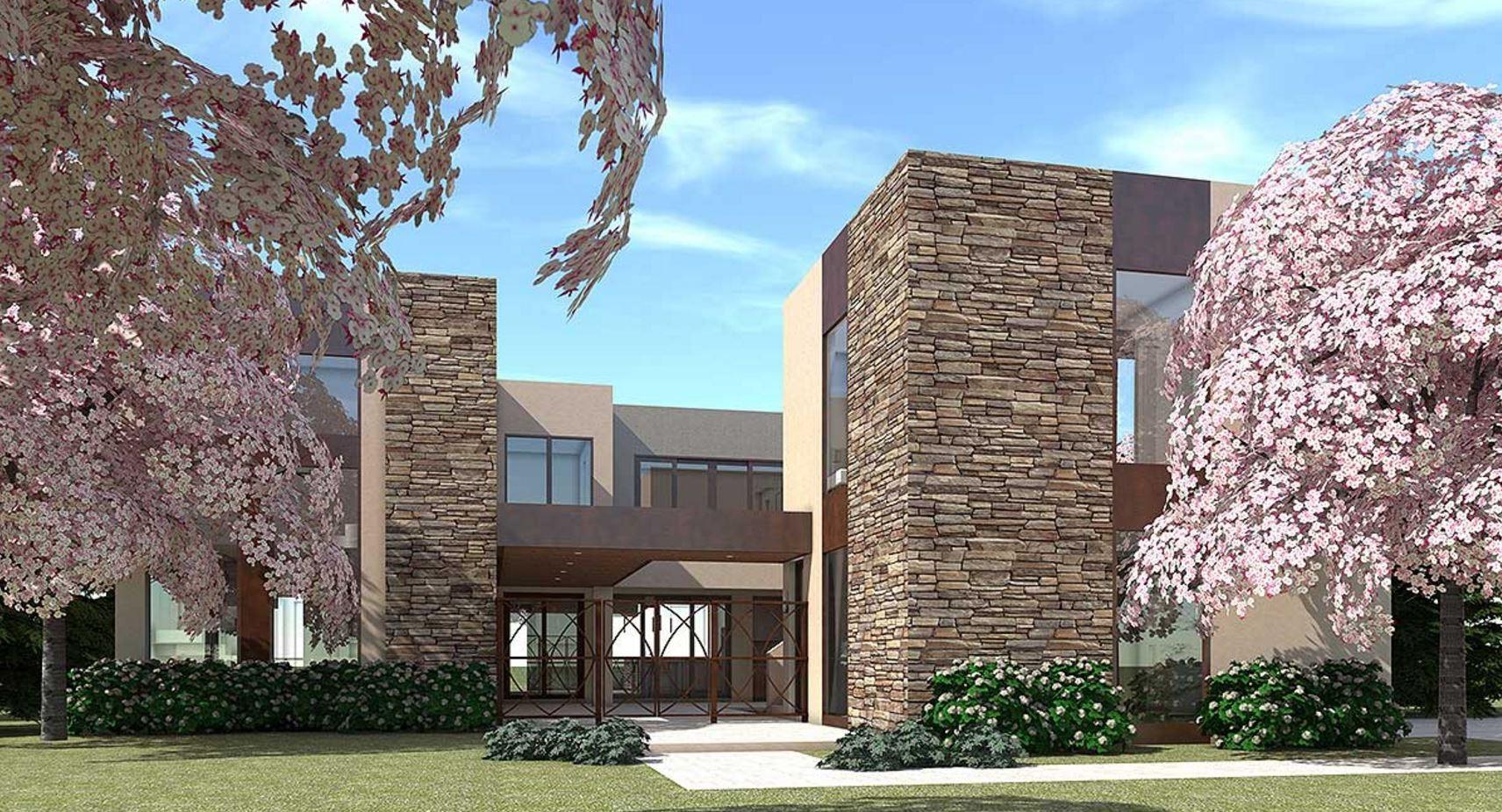 casa-parcialmente-revestida-en-piedra-de-3-pisos