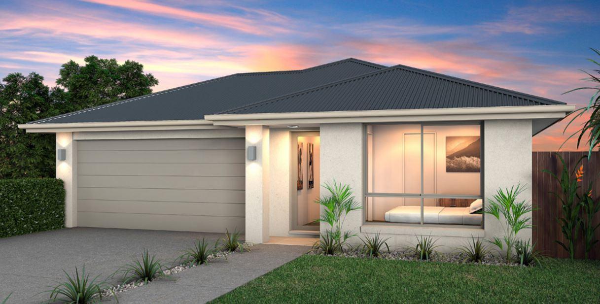 3 dormitorios planos de casas modernas for Casas modernas 4 aguas