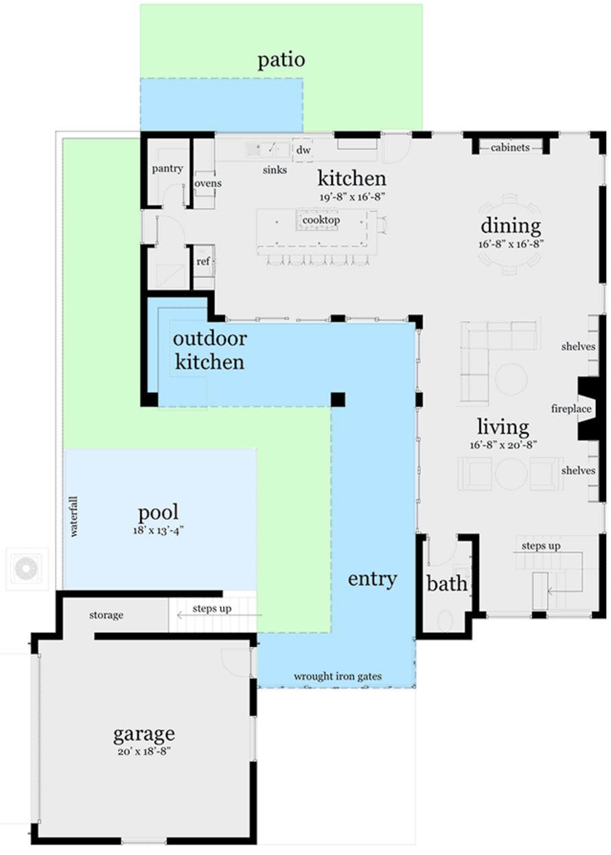 plano-de-casa-parcialmente-revestida-en-piedra-de-3-pisos