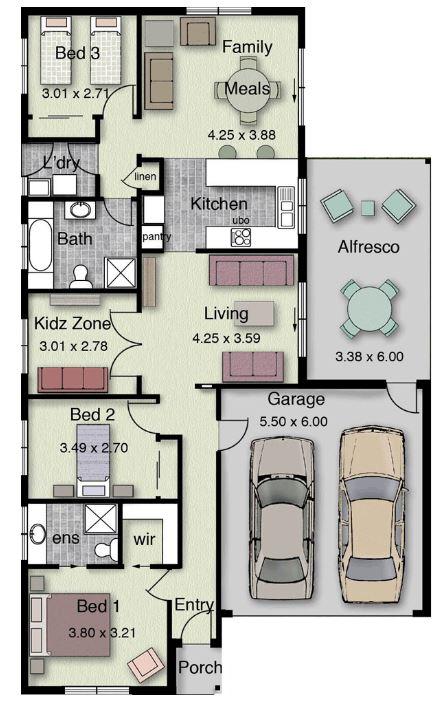 Planos de casas modernas y bonitas Planos de casas lindas