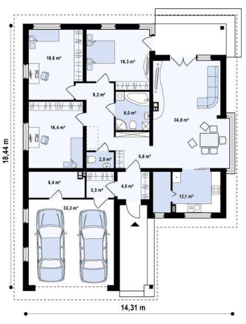 planos-de-casas-de-170m2