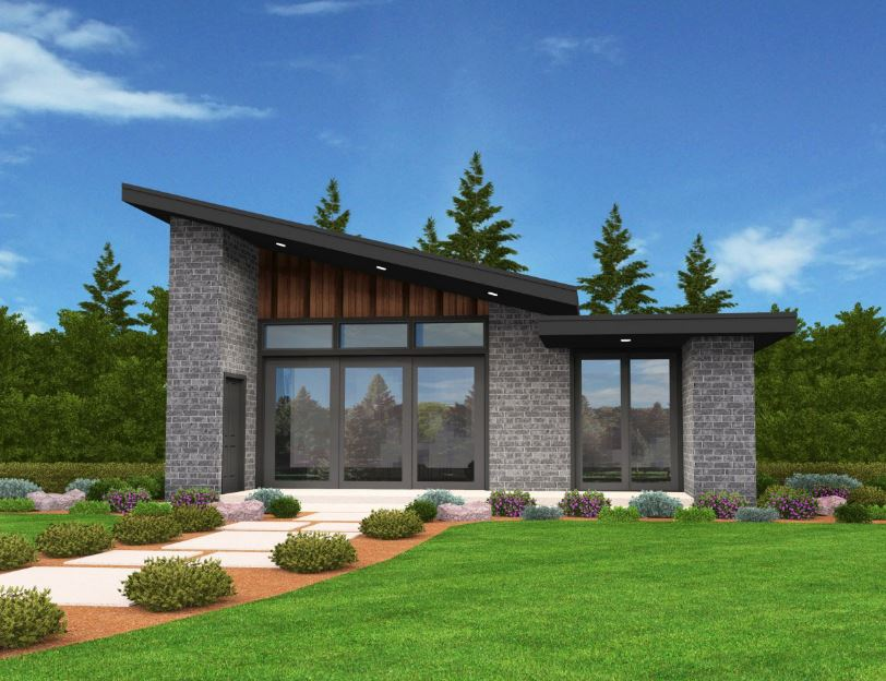 Planos de casas modernas de 60 m2 for Viviendas modernas de una planta