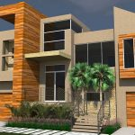 Casa con entrada elevada de 250 M2