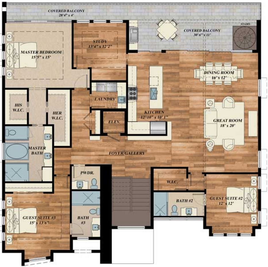 casa elevada | planos de casas modernas