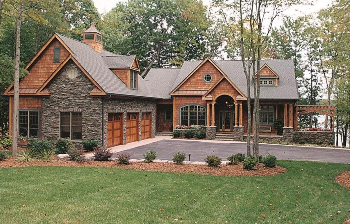 Casa de madera artesanal