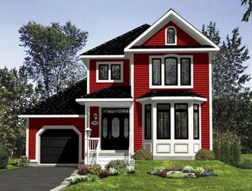 plano de casa de madera planos de casas modernas