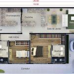 Diseños de casas de 10×25