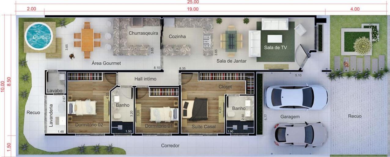 Planos de casas modernas planos de casas gratis y modernas for Diseno de casa de 5 x 10
